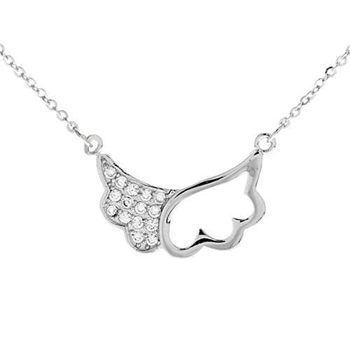 collier femme argent zirconium 8500005