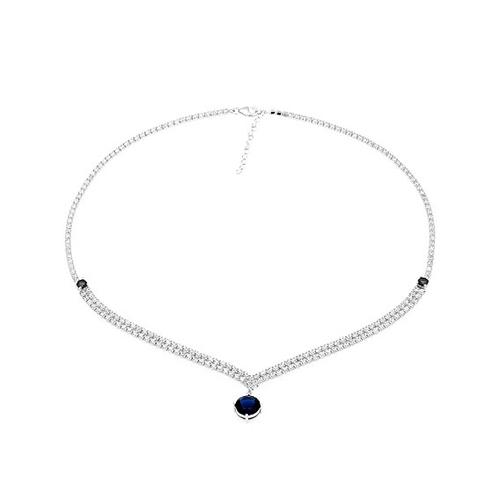 collier femme argent zirconium 8500015 pic2