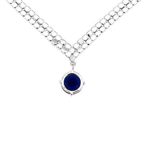 collier femme argent zirconium 8500015 pic4
