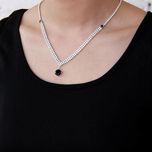 collier femme argent zirconium 8500015 pic6