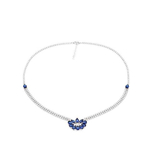 collier femme argent zirconium 8500016 pic2