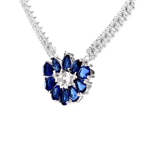 collier femme argent zirconium 8500016 pic3