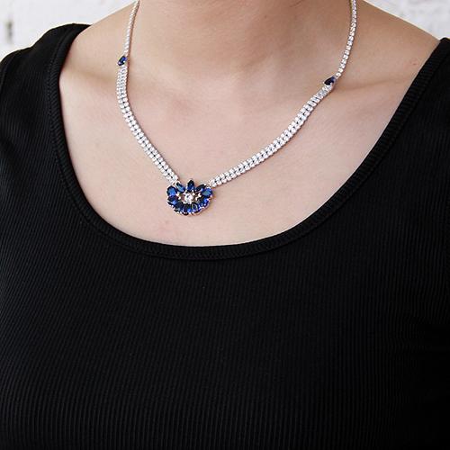 collier femme argent zirconium 8500016 pic6