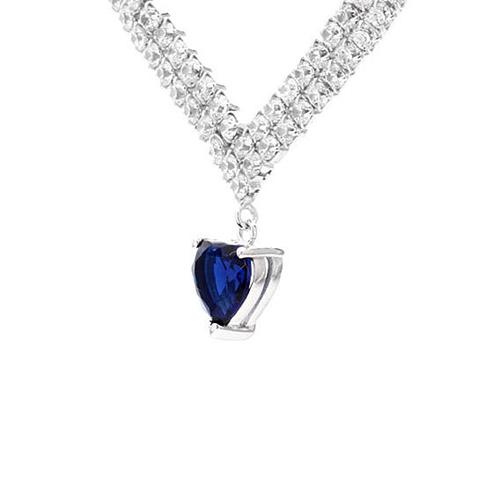 collier femme argent zirconium 8500017 pic3