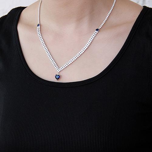 collier femme argent zirconium 8500017 pic6