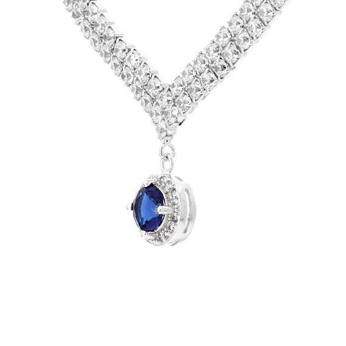 collier femme argent zirconium 8500018 pic3