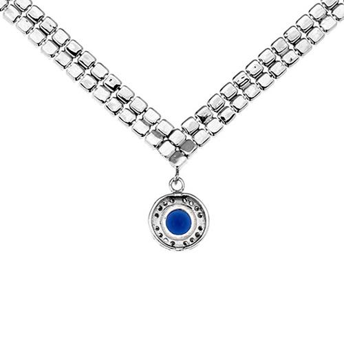 collier femme argent zirconium 8500018 pic4