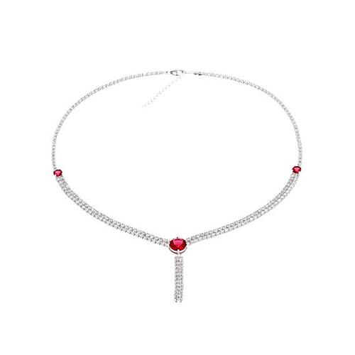 collier femme argent zirconium 8500019 pic2