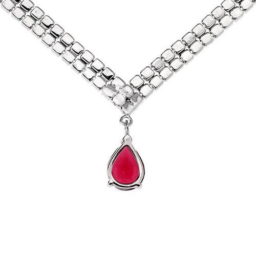 collier femme argent zirconium 8500020 pic4