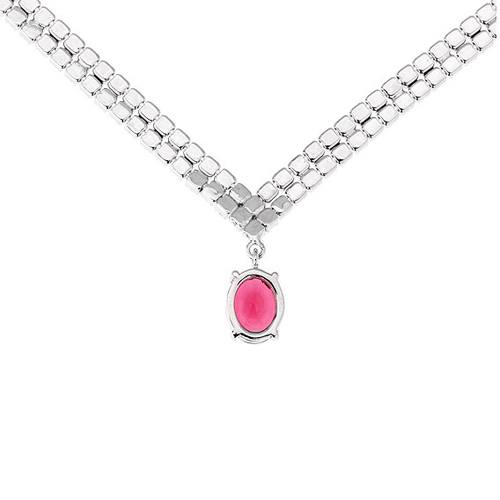 collier femme argent zirconium 8500021 pic4