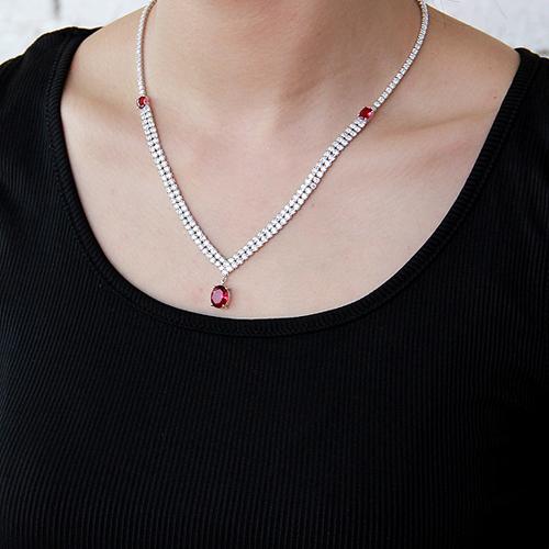 collier femme argent zirconium 8500021 pic6
