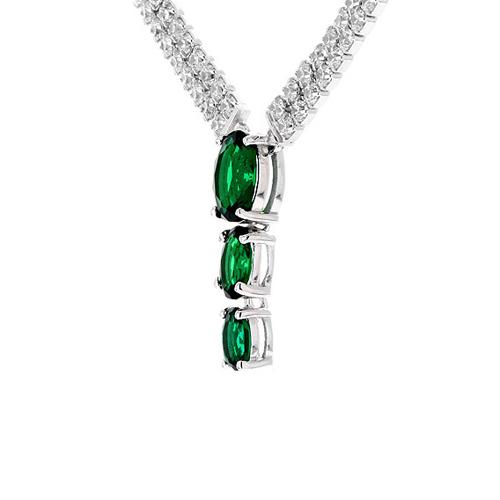 collier femme argent zirconium 8500022 pic3