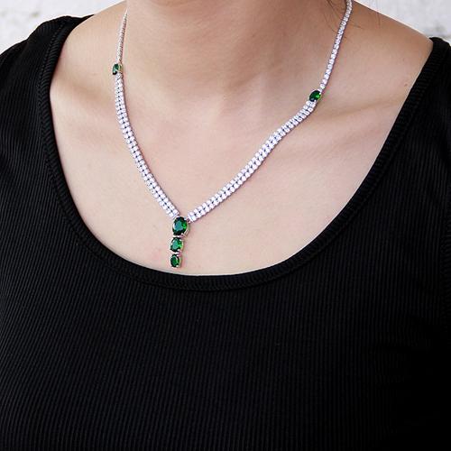collier femme argent zirconium 8500022 pic6