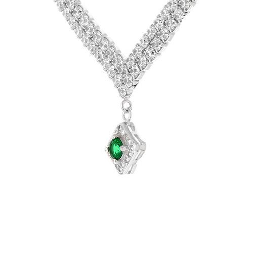 collier femme argent zirconium 8500023 pic3