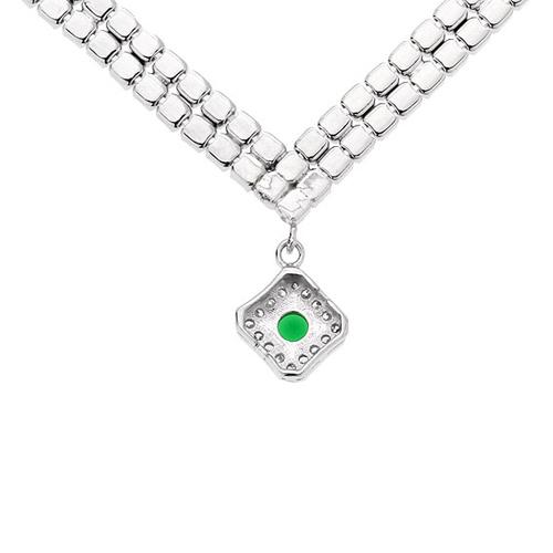 collier femme argent zirconium 8500023 pic4