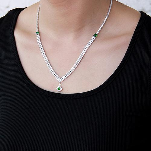 collier femme argent zirconium 8500023 pic6