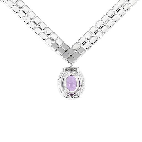 collier femme argent zirconium 8500024 pic4