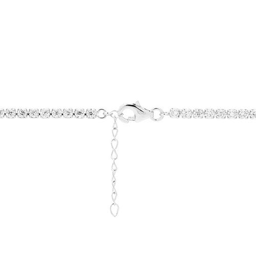 collier femme argent zirconium 8500025 pic5
