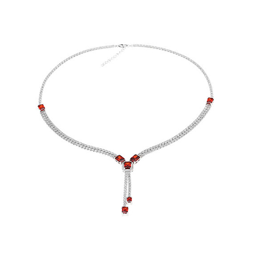 collier femme argent zirconium 8500026 pic2