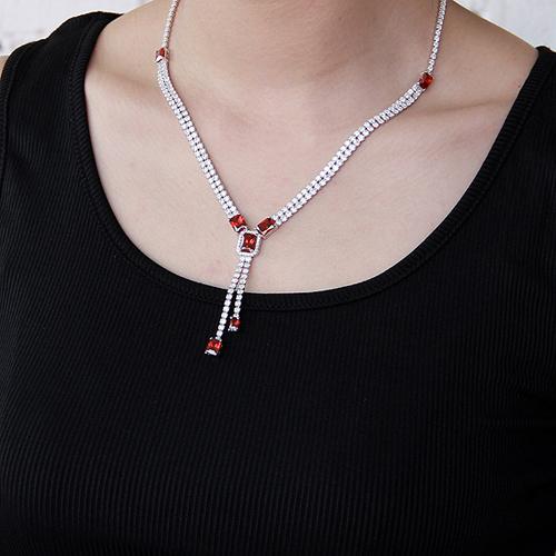 collier femme argent zirconium 8500026 pic6