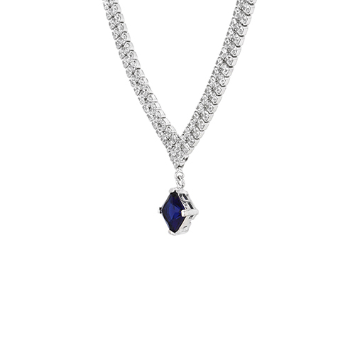 collier femme argent zirconium 8500028 pic3