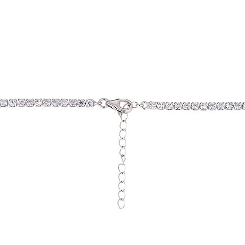 collier femme argent zirconium 8500028 pic4