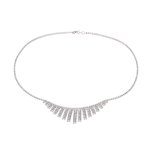 collier femme argent zirconium 8500029 pic2