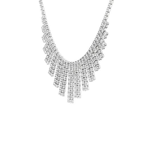 collier femme argent zirconium 8500029 pic3