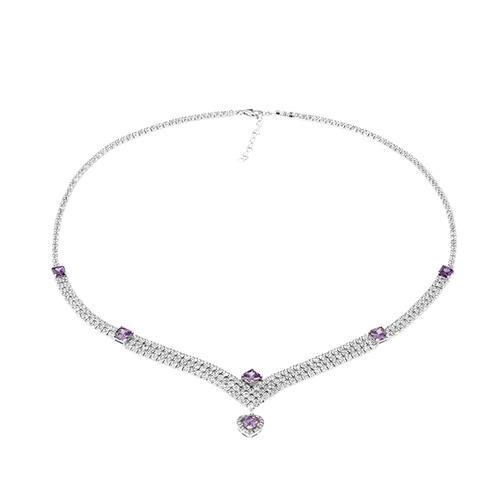 collier femme argent zirconium 8500030 pic2