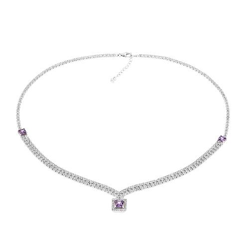 collier femme argent zirconium 8500032 pic2