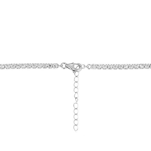 collier femme argent zirconium 8500032 pic4