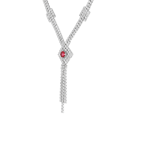 collier femme argent zirconium 8500033 pic3