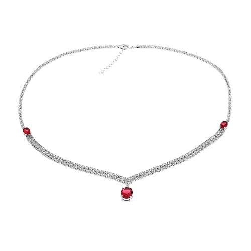 collier femme argent zirconium 8500034 pic2