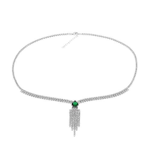 collier femme argent zirconium 8500035 pic2