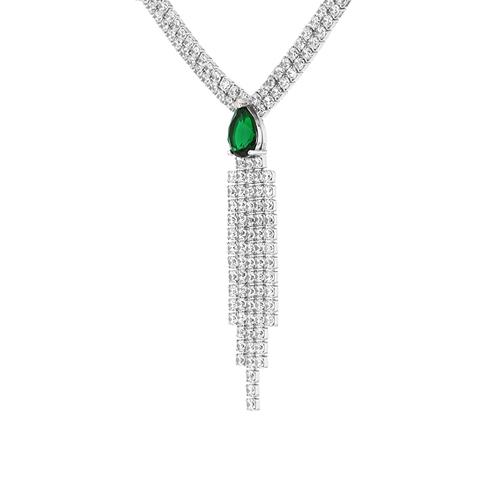 collier femme argent zirconium 8500035 pic3
