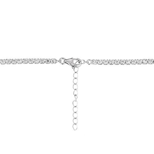 collier femme argent zirconium 8500035 pic4