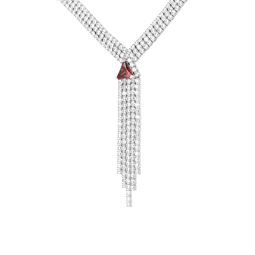 collier femme argent zirconium 8500036 pic3