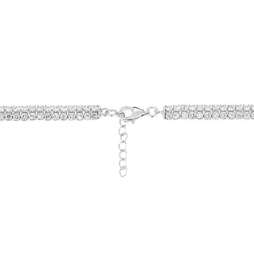 collier femme argent zirconium 8500037 pic4