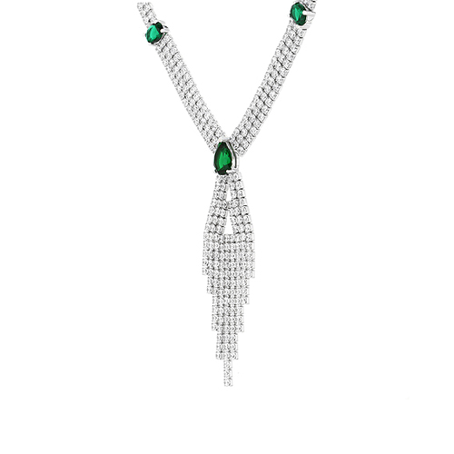 collier femme argent zirconium 8500038 pic3