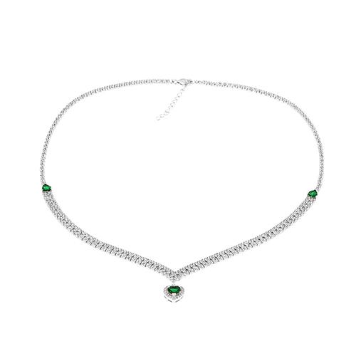 collier femme argent zirconium 8500039 pic2