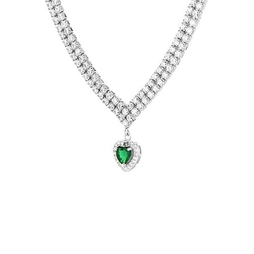 collier femme argent zirconium 8500039 pic3