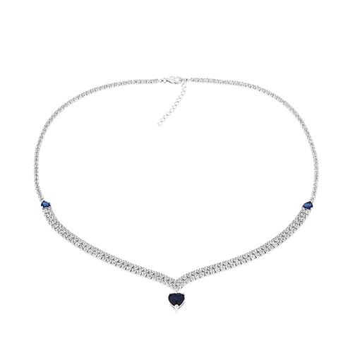 collier femme argent zirconium 8500041 pic2