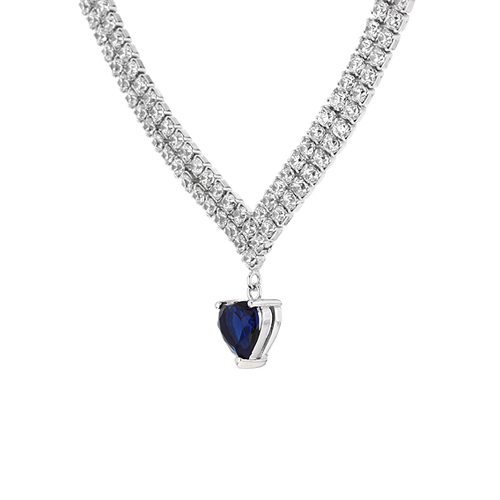 collier femme argent zirconium 8500041 pic3