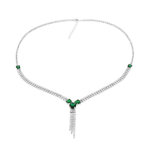 collier femme argent zirconium 8500043 pic2