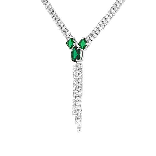 collier femme argent zirconium 8500043 pic3