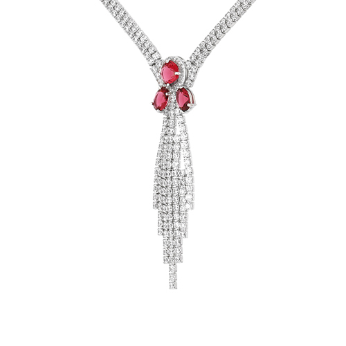 collier femme argent zirconium 8500046 pic3