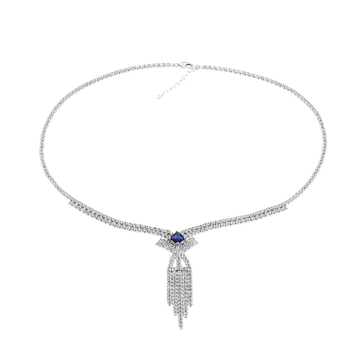 collier femme argent zirconium 8500047 pic2