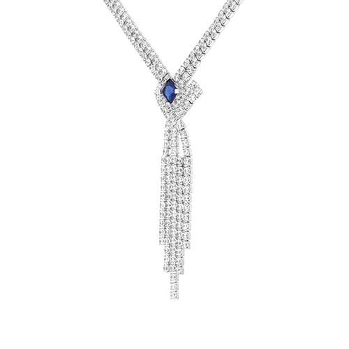 collier femme argent zirconium 8500047 pic3