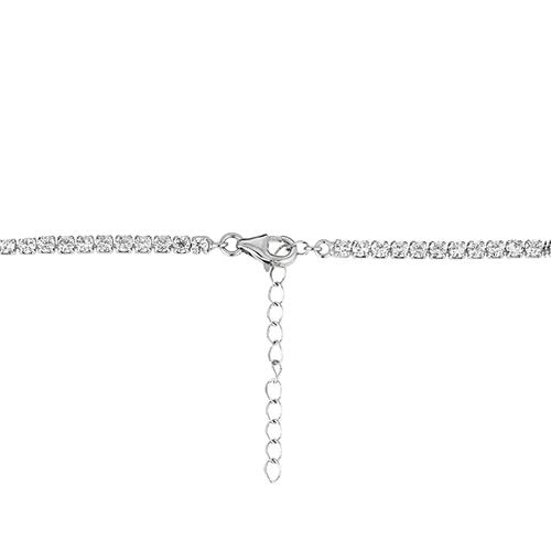 collier femme argent zirconium 8500047 pic4
