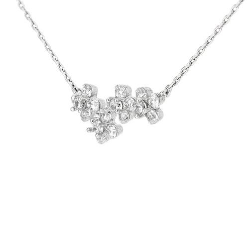 collier femme argent zirconium 8500049 pic3